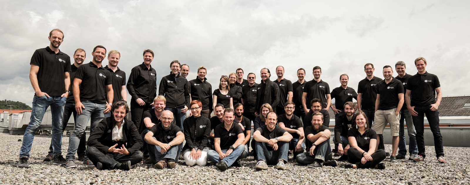 The Vexcel Imaging team based in Graz, Austria