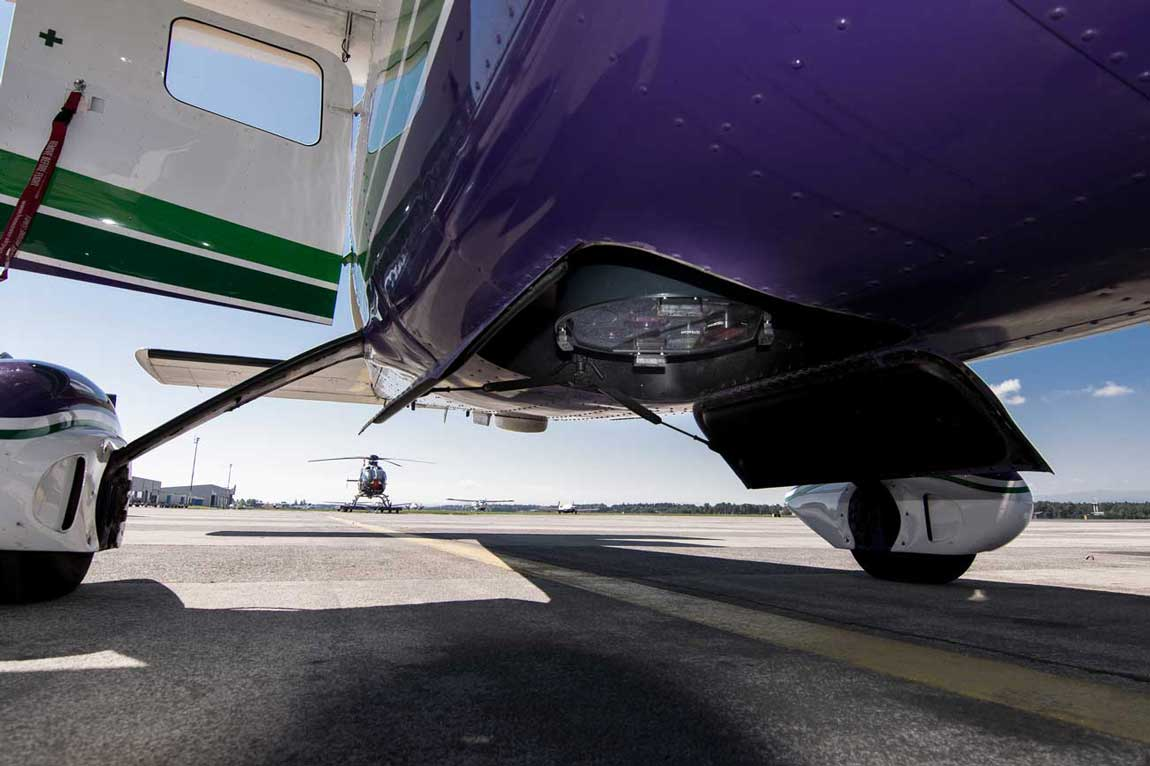 Camera stabilisation in aircrafts