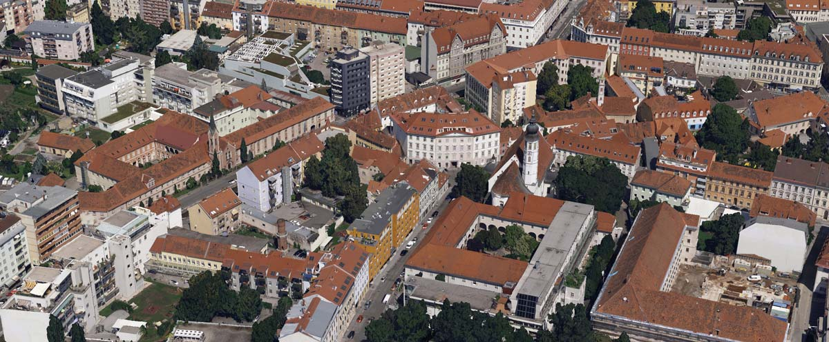 3D mapping of Graz Austria