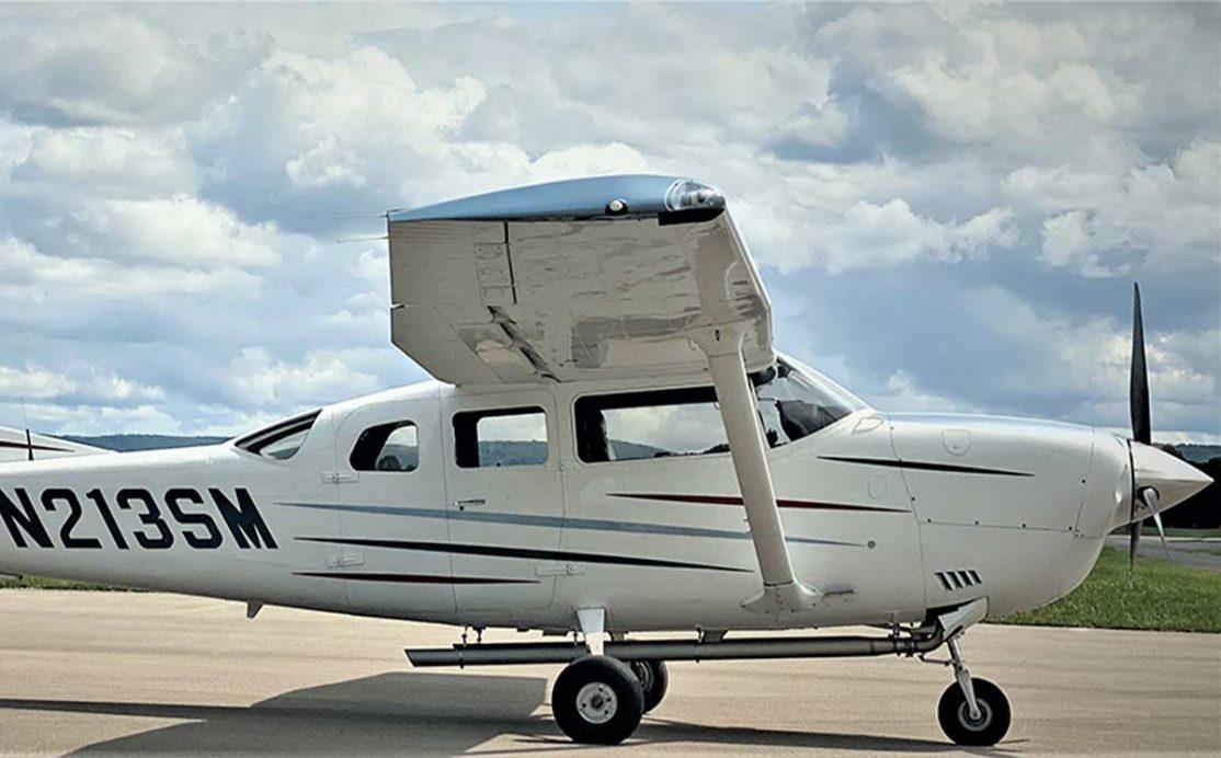 Aircraft from customer Arrowhawk