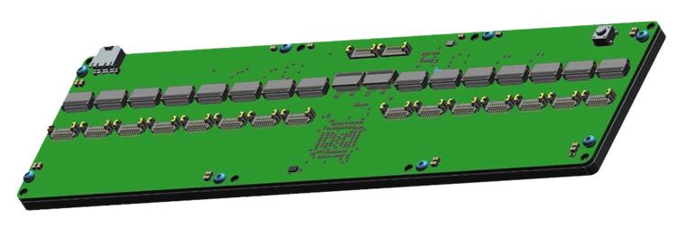 Electronics design of the custom switch