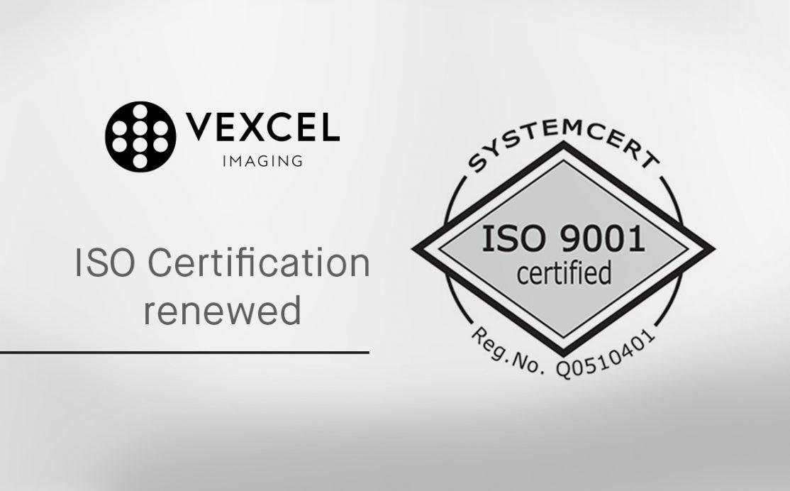 ISO certification renewed