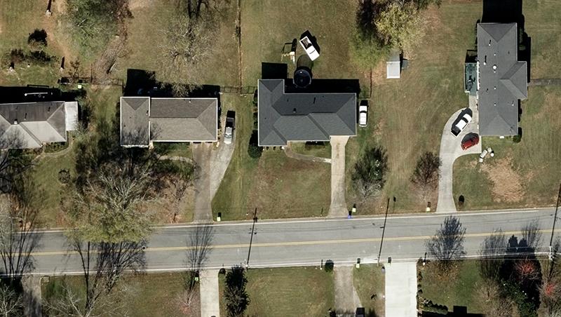 Aerial image Georgia
