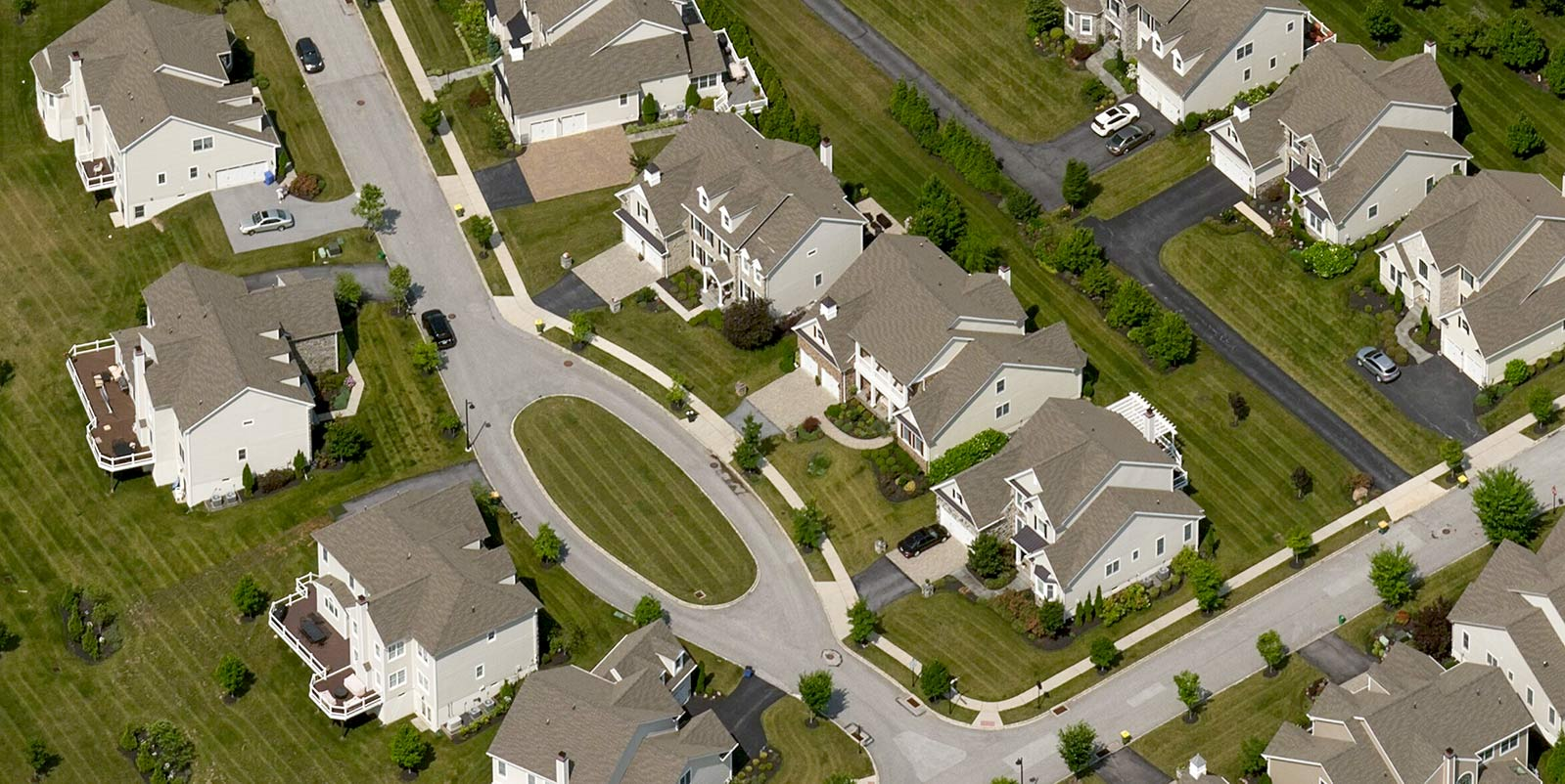 Oblique Aerial Imagery Newtown Square