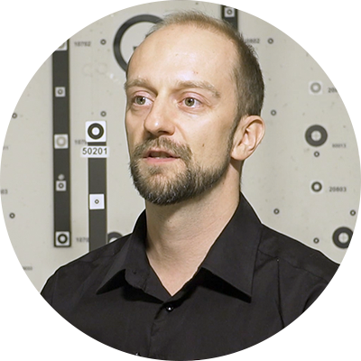 Application Specialist Marc Muick