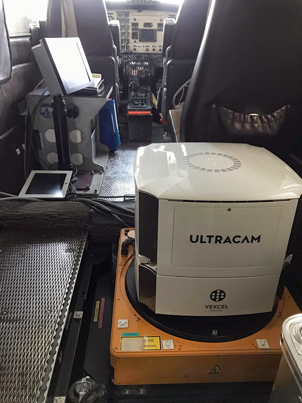 UCE M3 installed in the aircraft
