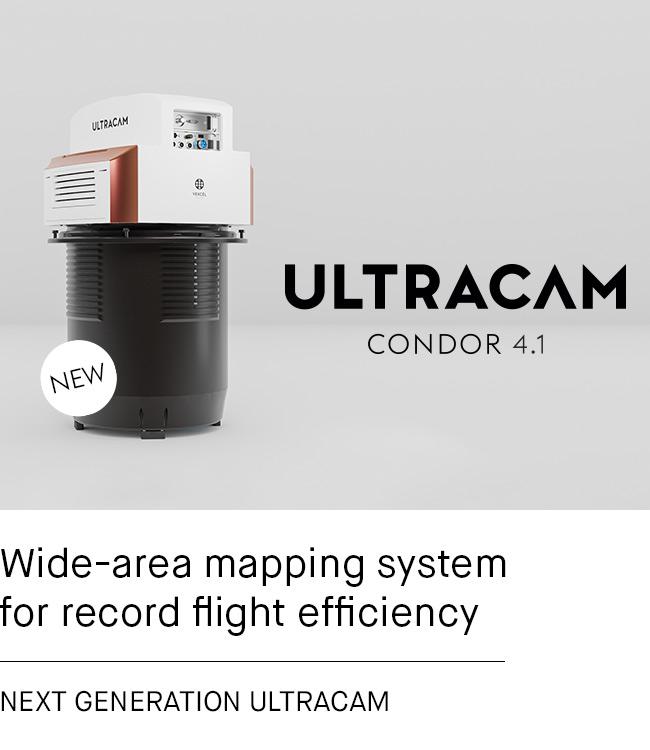 New UltraCam Condor 4.1 is released